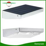 、760内腔48 LEDの動きセンサーライト屋外、太陽ライト防水アルミ合金フレームの無線屋外の機密保護の太陽軽い庭のヤードのテラスの壁ライト