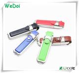 에 판매 저가 (WY-L05)를 가진 선전용 가죽 USB 섬광 드라이브