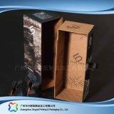 Gewölbtes Papier-Fach-Verpackungs-Geschenk-Kleid-Kleidung-Schuh-Kasten (xc-aps-012A)