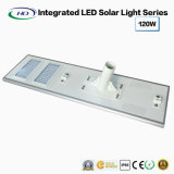 Luz de rua solar completa 120W do diodo emissor de luz do poder superior