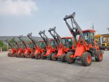 Затяжелитель колеса машинного оборудования трактора фермы 1.6 тонн миниый садовничая, малый затяжелитель колеса машины Indusrial