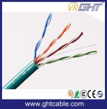 Cable de la red de la alta calidad 24AWG UTP Cat5
