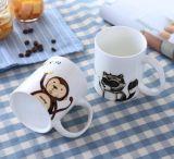 Tasse de café en gros de porcelaine de Doraemon de dessin animé d'enfants
