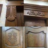 Inicio sólida puerta de madera talla única (GSP2-007)