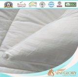 Puro algodón blanco tamaño estándar Dobby Stripe Pillow