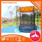 Sosta del trampolino, base esterna del trampolino con il trampolino netto del fornitore da vendere