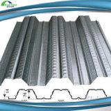 Folha de pavimento em aço galvanizado usado como piso de edifícios