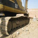 Excavador usado viejo de la oruga de la maquinaria de construcción de la mano del japonés segundo en buenas condiciones