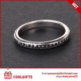 l'anello dell'annata 8PCS ha impostato con la decorazione trasversale del reticolo della Rosa e di numero