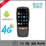 Varredor Handheld PDA do código de barras da tela de toque de 4 polegadas