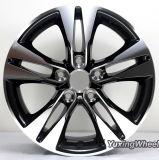 L'alluminio dell'automobile da 16 pollici spinge la rotella della lega per Toyota con il PUNTINO