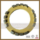 абразивный диск диаманта 240mm для мрамора