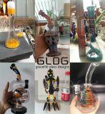 Borosilicate de qualité de Gldg conduite d'eau de fumage en verre de couleur des 12 de pouce Etats-Unis de hauteur