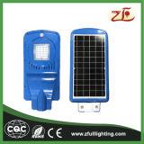 réverbère actionné solaire de l'énergie DEL de l'économie 20W de grande énergie