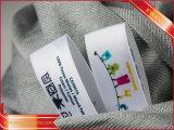 Zoll druckte Hauptmarken-Kleid gedruckte Gewebe-Marke
