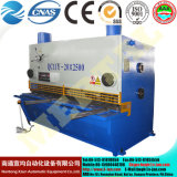 Máquina de estaca de corte 20*2500mm da máquina/folha da placa hidráulica da guilhotina