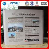 Support de bannière murale en PVC magnétique recourbé et droit