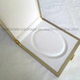 De aangepaste Gouden Houten Verpakkende Doos van de Gift van de Halsband van de Galm