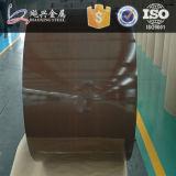 Materiais de construção a China Fornecedor bobina de aço com revestimento de cor de madeira