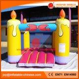 Aufblasbare Kerze-springender Geburtstagsfeier-Prahler für Vergnügungspark (T1-241)