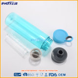 Bottiglia di acqua (tritan) di plastica libera blu-chiaro di vendita superiore