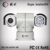 câmera de alta velocidade do CCTV da visão noturna PTZ IR de 100m com limpador