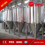 rivestimento della fossetta 5bbl con il fermentatore di raffreddamento del serbatoio di putrefazione della birra di funzione