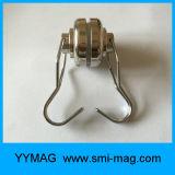 De magnetische Haak van de Magneet van de Wartel van het Neodymium van de Haak Op zwaar werk berekende