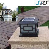 Champion de vente OEM Suqare cuivrée LED 3W Lampe Solaire de Jardin avec la certification CE