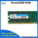 Системные платы для процессоров AMD приложения 256 МБ*4 32IC 4 ГБ ОЗУ DDR2