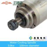 Refrigerado por agua de 3 kW CNC Router del eje para un tallado en madera Recoger Er20 24000rpm 400Hz