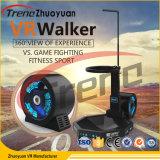 Simulador interactivo de la rueda de ardilla del cine del simulador 9d Vr del caminante de Vr que recorre