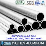 Kundenspezifisches Durchmesser-rundes Gefäß-Rohr-Aluminiumstrangpresßling-Profil