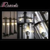 Lámpara pendiente de cristal de la vela decorativa tradicional para el proyecto del hotel