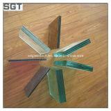 el vidrio laminado de 6.38m m /8.38mm /10.38mm /12.38mm para construir con Ce y la ISO certifican