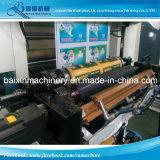 ベルト制御8色刷の機械装置