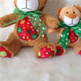 Nouvel an Lion Cute Belly Soft Stuffed Peluche Lion Toy
