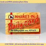 Recompensas de la tarjeta de PVC con banda magnética HiCo para Supermarket