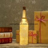 El aniversario LED enciende para arriba pares del amor del contrato del sentimiento o la botella de la luz de la estrella de los regalos de Glashing del amigo