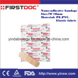Medical Suppies Bandage Adhésif 56 * 19mm Elastic Fabric / PE Wound Plaster