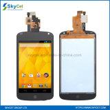 LG E960のためのタッチ画面が付いている携帯電話LCDの表示