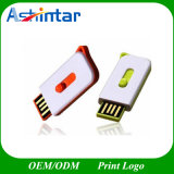 Mini mecanismo impulsor del flash del USB del plástico del USB del palillo impermeable de la memoria