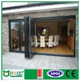 Роскошная австралийская стандартная дверь створки Bi с Tempered стеклом Pnocbfd00001