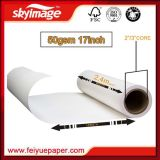 "papel do Sublimation 50g no rolo com aplicações largas 17 "" 24 "" 36 "" 44 """