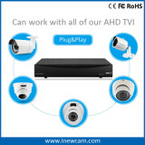 4CH 720p CCTV DVR für Ahd und Tvi Kameras