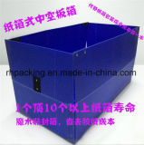La casella di Twinwall pp, la scatola di plastica, fornitore della casella di Coroplast con il catenaccio di plastica passa il branello di angolo di Edgings