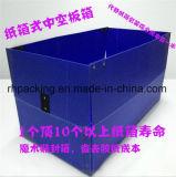 Twinwall pp. Kasten, Plastikkarton, Coroplast Kasten-Hersteller mit Plastikhaken übergibt Edgings Winkel-Raupe