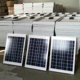 Petit panneau solaire Poly 5W 9V / 18V pour l'utilisation de l'éclairage