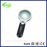 Transparent Mini loupe loupe lumineuse à LED loupe de poche en haute qualité