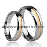Het nieuwe Product koppelt de Ring van de Juwelen van het Wolfram van de Manier van de Ring